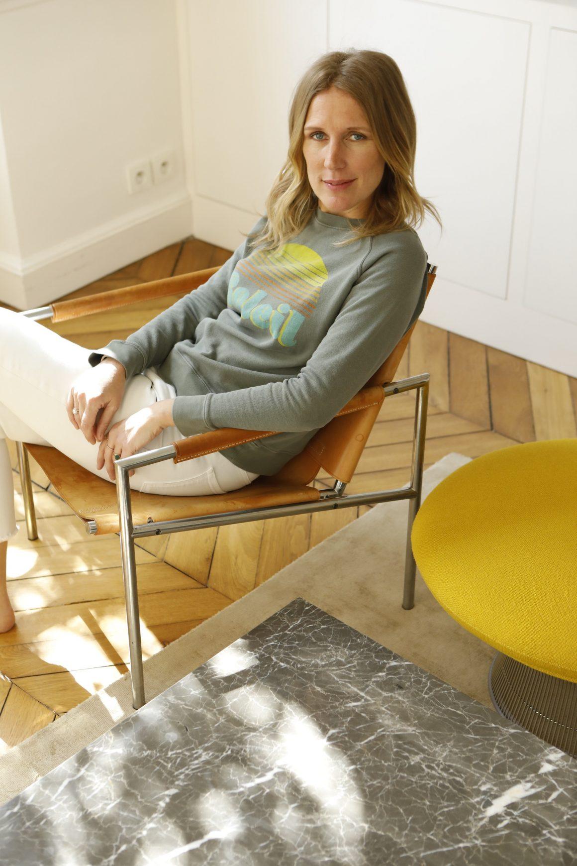 Portrait de la créatrice Agathe Lecaron