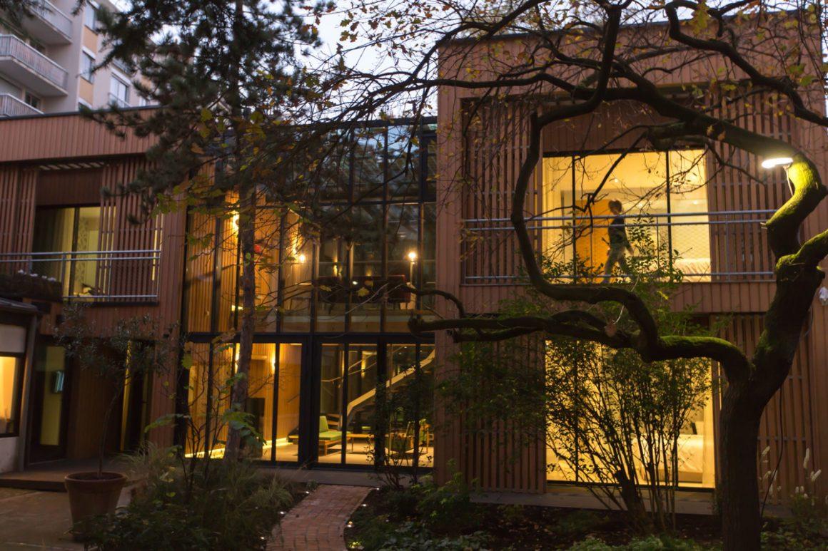 L'écolodge de luxe Eden Lodge à Paris