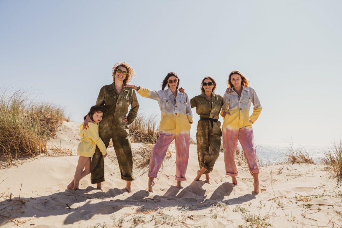Les filles Jane de Boy en combipantalon Love and let dye