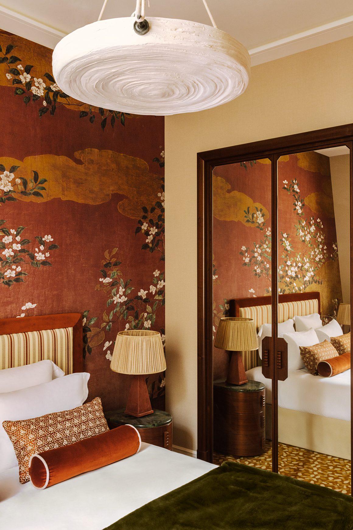 Une chambre de l'Hôtel Saint-James à Paris
