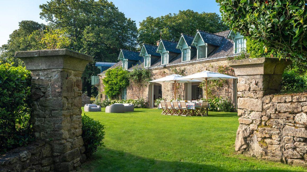 Villa à louer sur l'Ile d'Iris en Bretagne