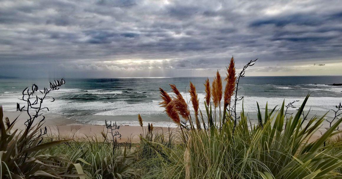 Vue sur la mer depuis Etxola Bibi à Biarritz