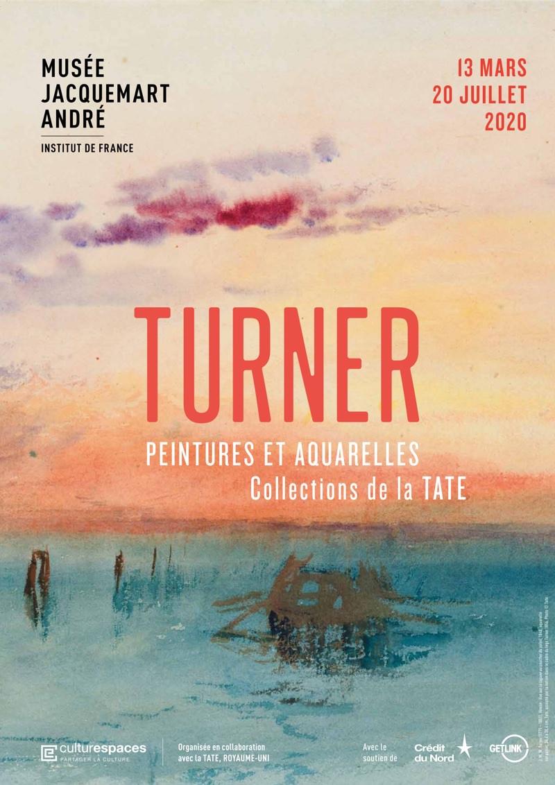 Turner, l'exposition virtuelle de peintures et aquarelles au Musée Jacquemart André