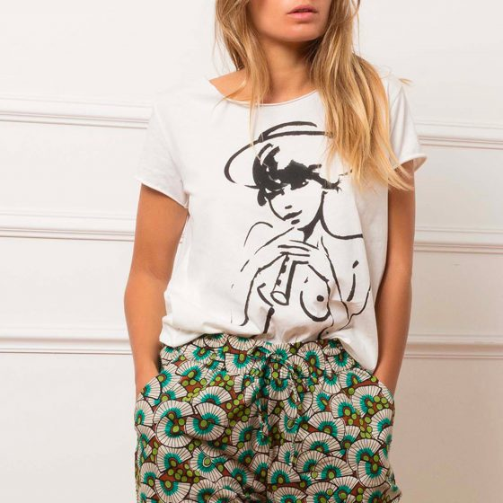 """On aime le tee-shirt """"Joueuse de Flûte"""" par G.Kero"""