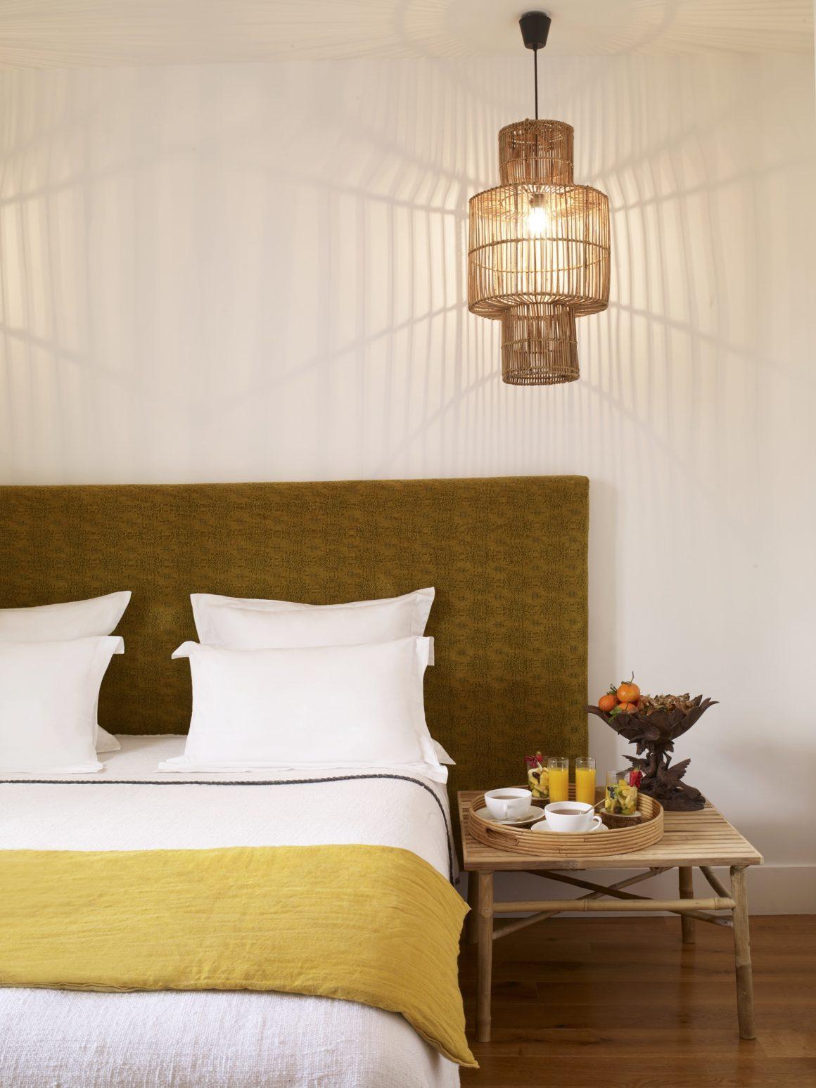 Une chambre à l'hôtel la Palmeraie